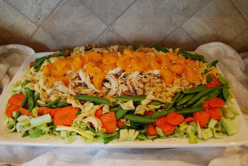 Thai chicken salad. 312346_10150396129171833_2057181642_n